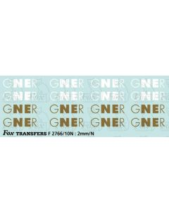 GNER Logos for Eurostar/Class 89