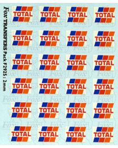 Total Tanker Logos, small, white
