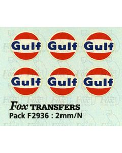 Gulf Logos for Class A Tankers