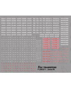 Freightliner flats numbering & Detailing