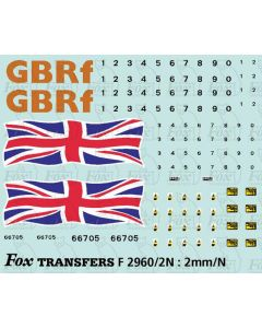 GBRf Class 66 66705 Union Flag Complete Loco Element