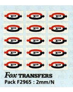Procor Freight Vehicle Logos
