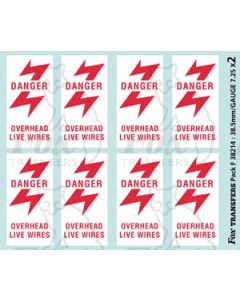 Overhead Live Wire Warning Flashes (up to 1998)