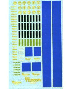British Telecom Kiosk & Phone Shop Fascia Semi-Kit