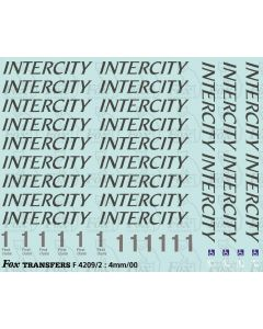 Revised InterCity Coaching Stock Lettering/Detailing