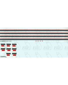 NSE Lining/Chevrons for Class 47 & 50 Locos