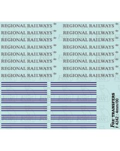 Regional Railways Large Logos & Linking Devices