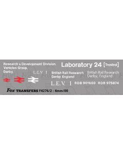 Research Division LABORATORY 24 (TRESTROL) - LEV1