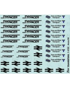Tyne & Wear Pacer Logos/Composites