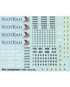 ScotRail Multiple Unit Graphics (Classes 156/158/170)