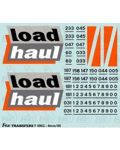 Loadhaul Class 60 Loco Livery Elements