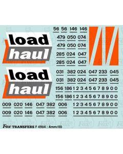 Loadhaul Class 56 Loco Livery Elements