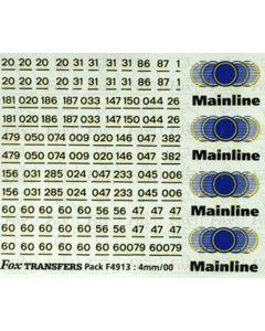 Mainline Freight Logos/Detailing Class 37 & 60079