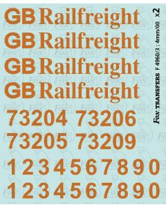 GB Railfreight Livery Elements (Class 73 Electro-Diesels)