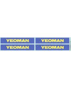 Yeoman PGA Hopper Logos