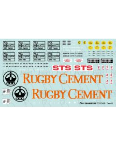 RUGBY CEMENT PCA Full Livery