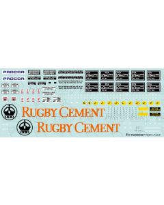 RUGBY CEMENT PCA Tanker Full Livery