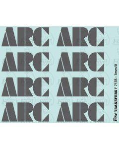ARC PGA Hopper Logos