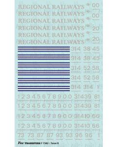 Regional Railways Loco Livery Elements