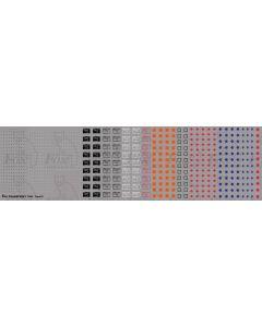 Loco/MU Data Panels/Compatibility Symbols