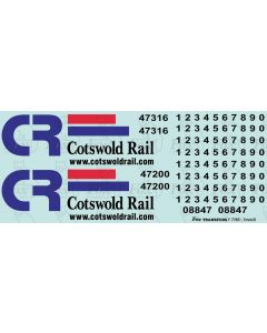 Cotswold Rail Class 47 Livery Elements