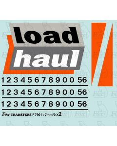Loadhaul Class 56 Livery Elements
