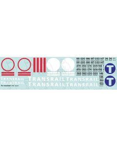 Transrail Locomotive Livery Elements