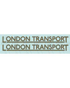 FLEET NAME - LONDON TRANSPORT