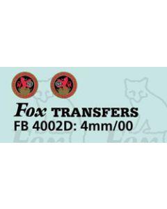 BRS Door badge 1956-62 North Eastern