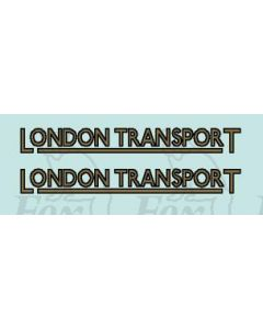 FLEET NAME - LONDON TRANSPORT