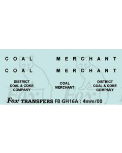 TRANSPORT COMPANIES - DISTRICT COAL & COKE black