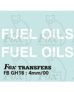 TRANSPORT COMPANIES - FUEL OILS