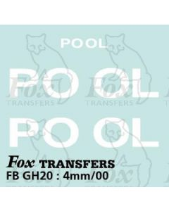 TRANSPORT COMPANIES - POOL