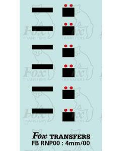 Numberplate blanks