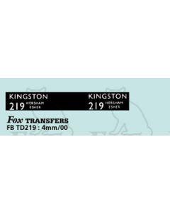 DESTINATION SCREENS - KINGSTON