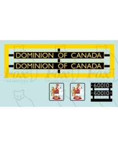 60010  DOMINION OF CANADA