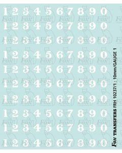 LMS serif Smokebox Numbering