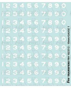 LMS sans serif Smokebox Numbering