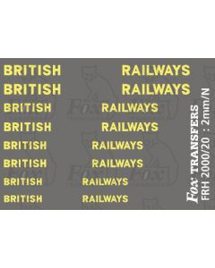 LMS Style British Railways Branding