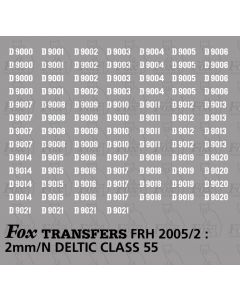 Diesel Deltic Class 55 Numbersets