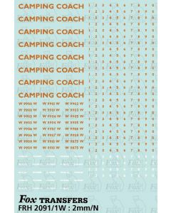 WR Camping Coach Graphics