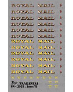 Royal Mail Brandings
