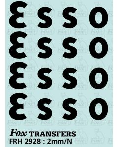 ESSO Class A Tank Logos, large