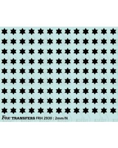 Fast Traffic Stars for freight vehicles, black