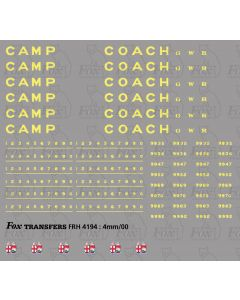 Camping Coach Graphics