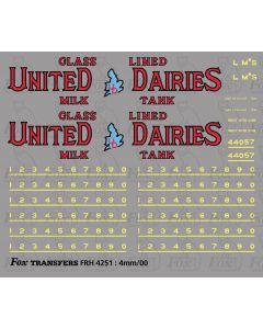 LMS United Dairies Milk Tank Wagon