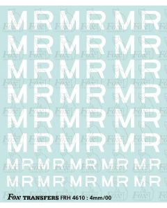 Midland Railway Wagon Lettering