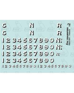 GNR GREAT NORTHERN RAILWAY Loco Graphics