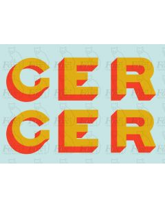 GER GREAT EASTERN RAILWAY Loco Graphics - from 1915-c1923
