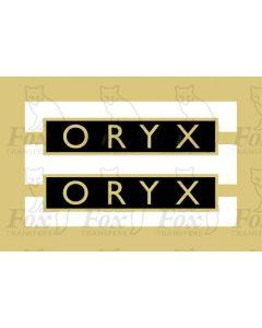 1004  ORYX